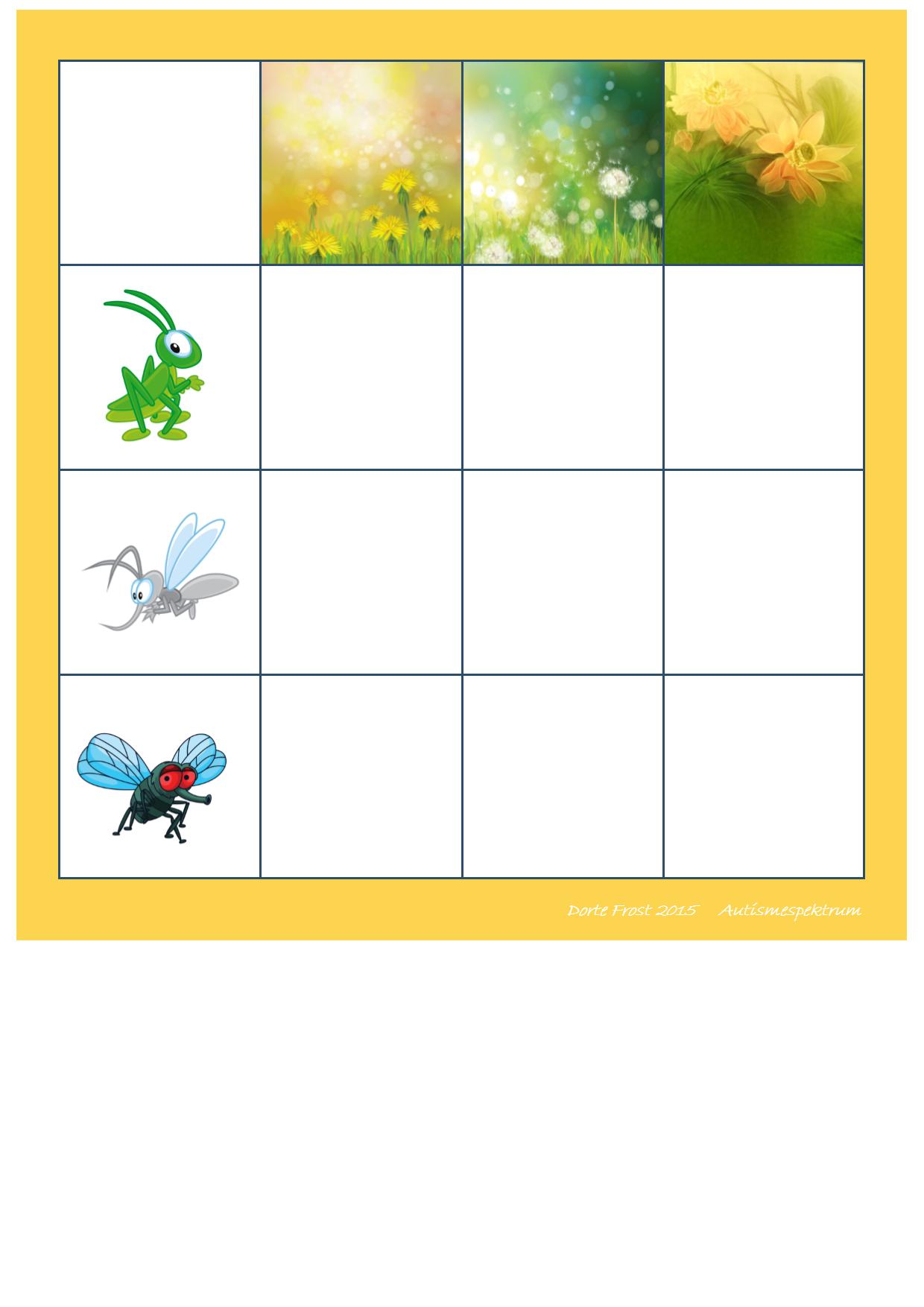 Board For The Matrix Game Find The Belonging Tiles On Autismespektrum On Pinterest By Autismespektrum Thema