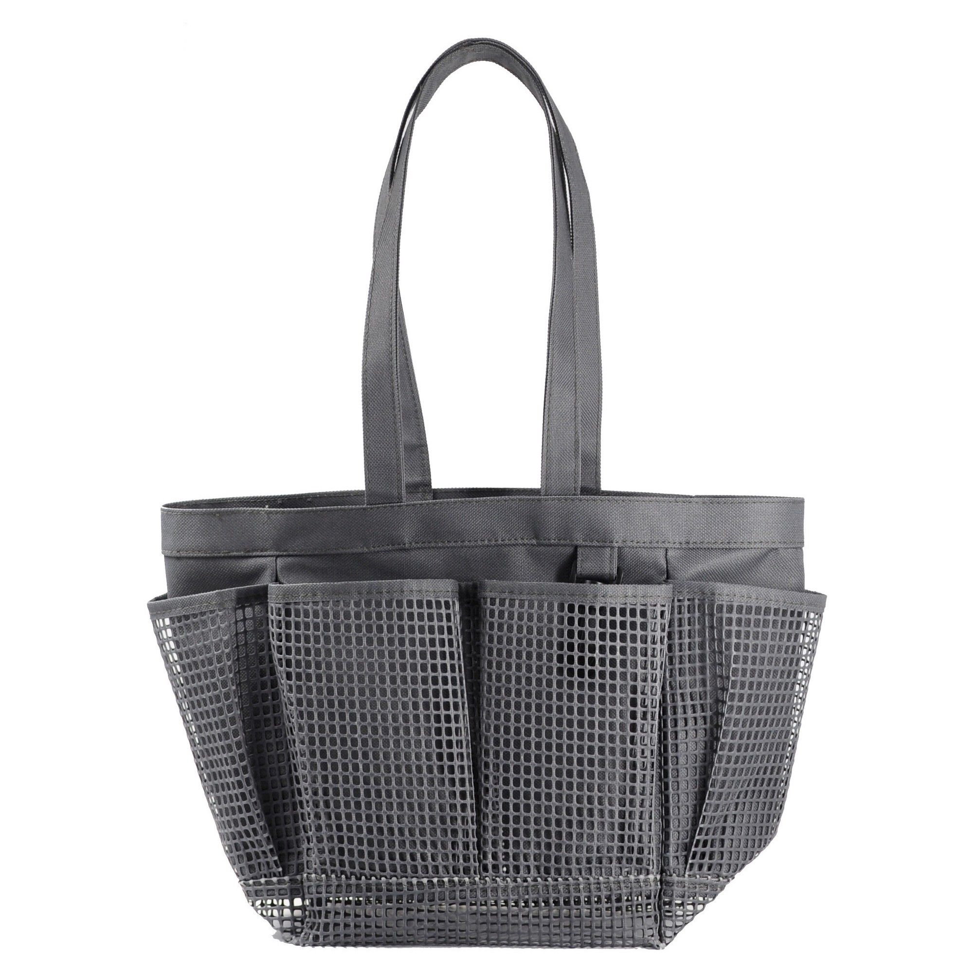 Mesh Shower Caddy Flat Gray - Room Essentials | Grey room and Products