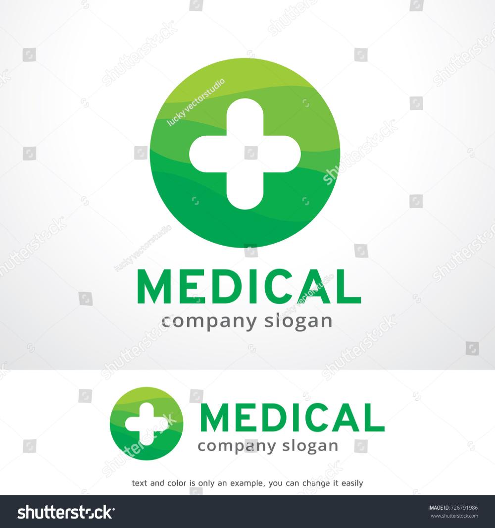 Medical Plus Logo Template Design Vector Stock Vector
