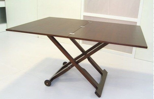 fold up dining room tables | Elegant Foldable Dining Table And Chairs For Simple Dining ...