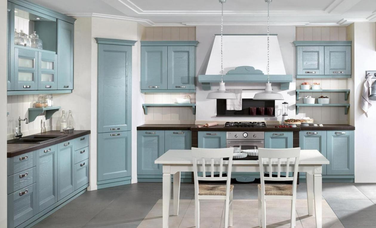 Composizione cucina modello Gioiosa con dispensa angolare. | Kitchen ...