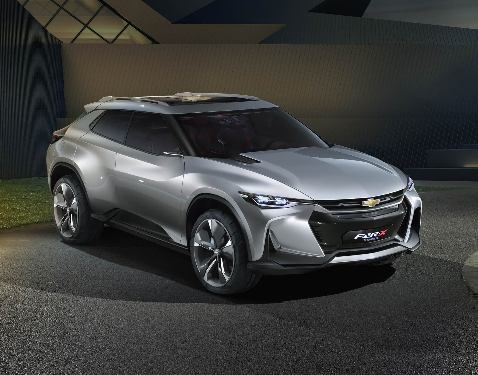 Chevrolet fnr x concept 2017 car rear view 4k wallpaper cars wallpapers pinterest rear view chevrolet and cars