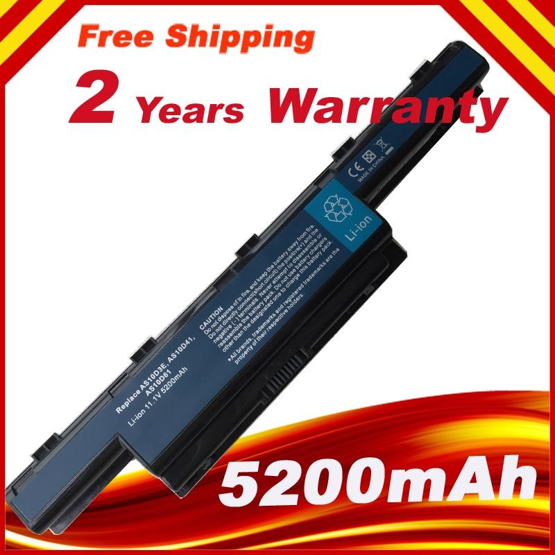 4400mAh laptop Battery for Acer Aspire V3471G V3551G V3