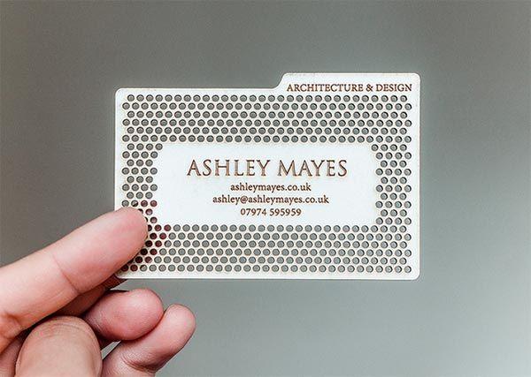 Irregular-Metal-Laser cut-Business-card, contact email:cxj4 ...