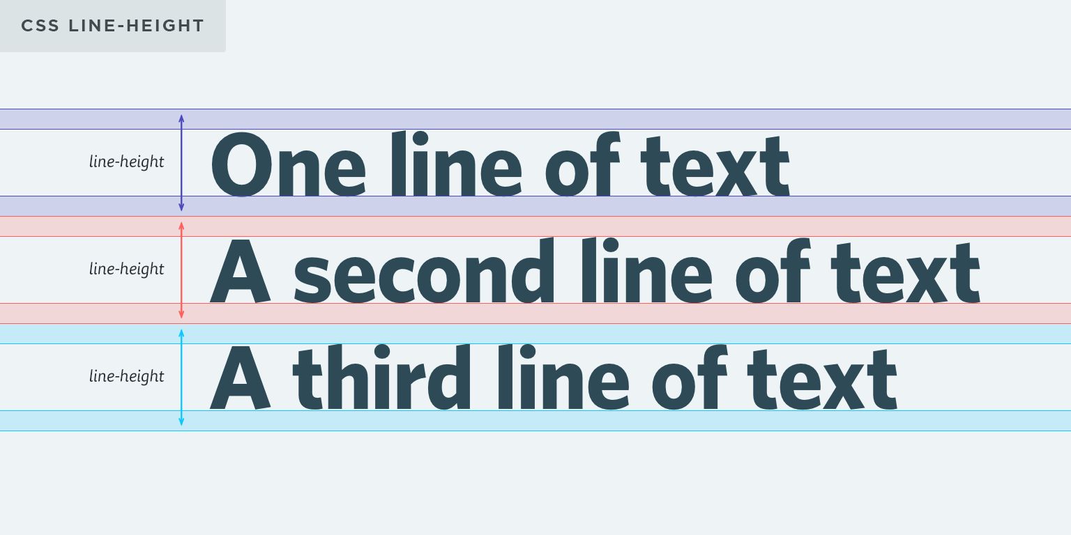 CSS Typography: Line Height | Css, Social security card, Lesson