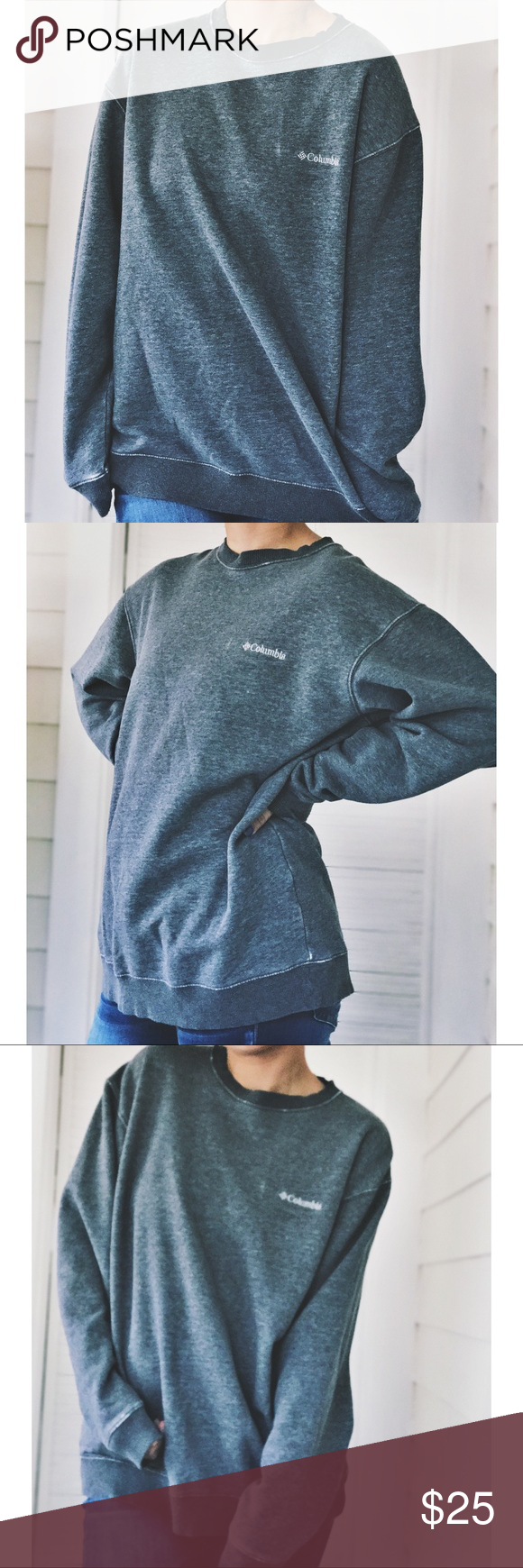 Columbia Oversized Crewneck Sweater Cozy, warm and perfect for ...