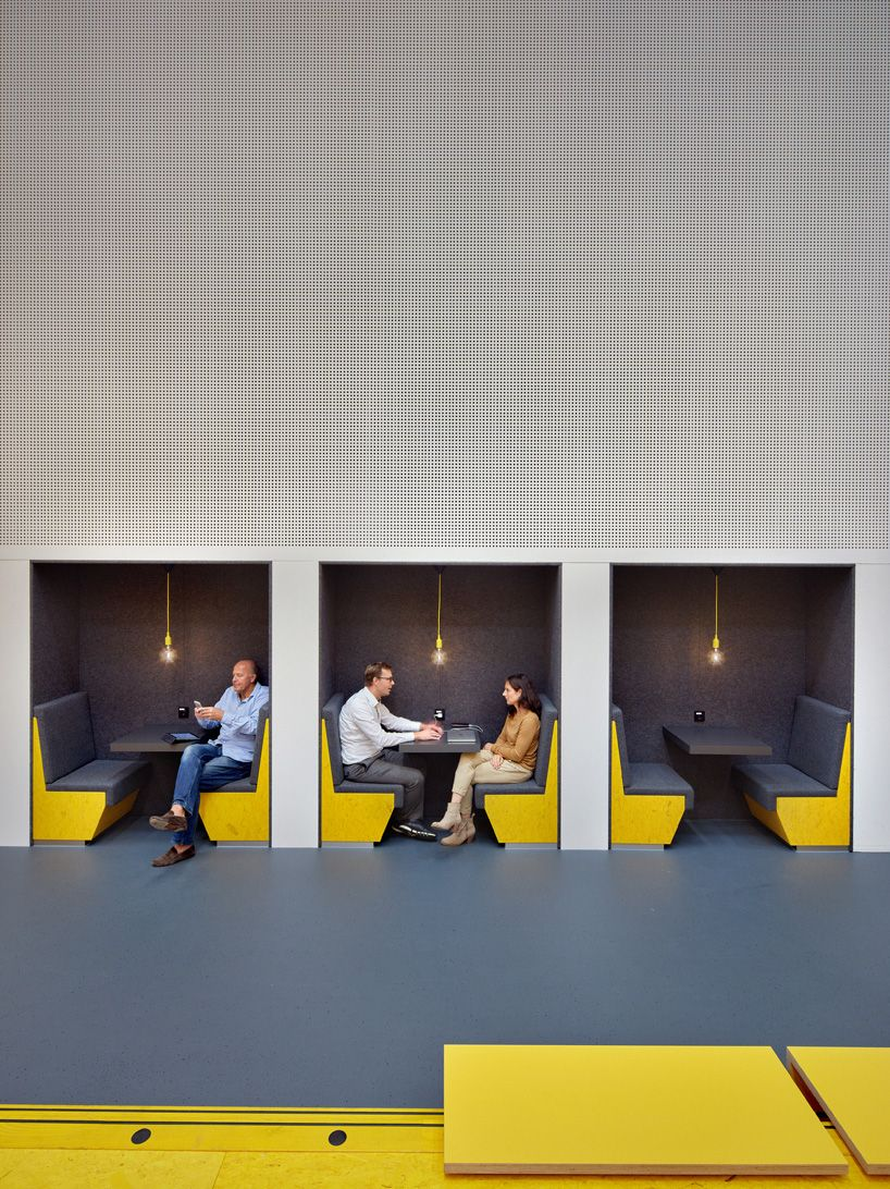 group a brightens up teaching lab in koning inspired winning design rh pinterest com