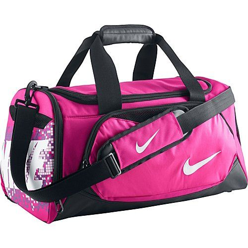 226b6f5b6311 Nike Max Air Small Pink Duffel Bag Nike http   www.amazon.