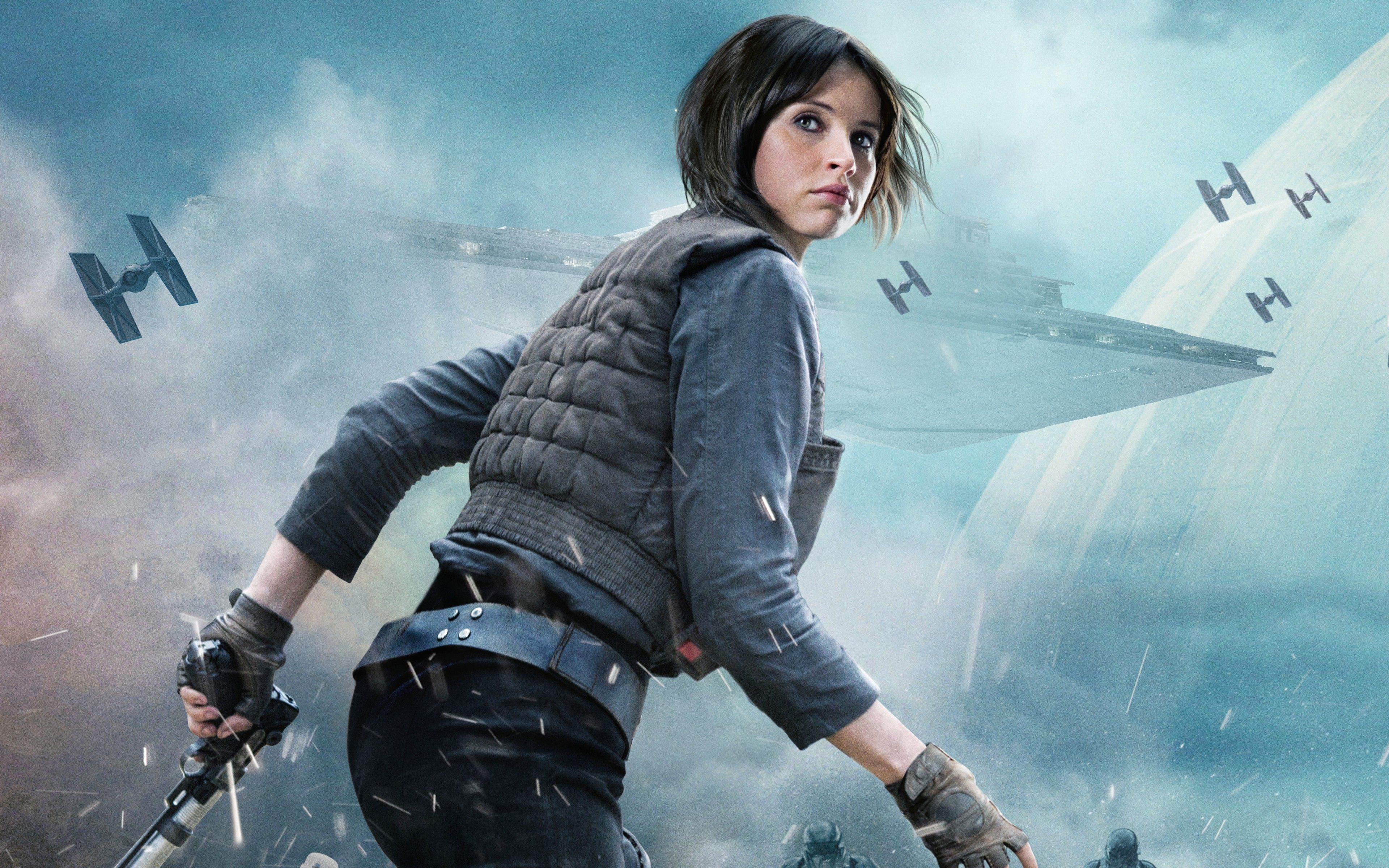 Rogue One Jyn Erso Who Is Your Favorite New Rogue One Character