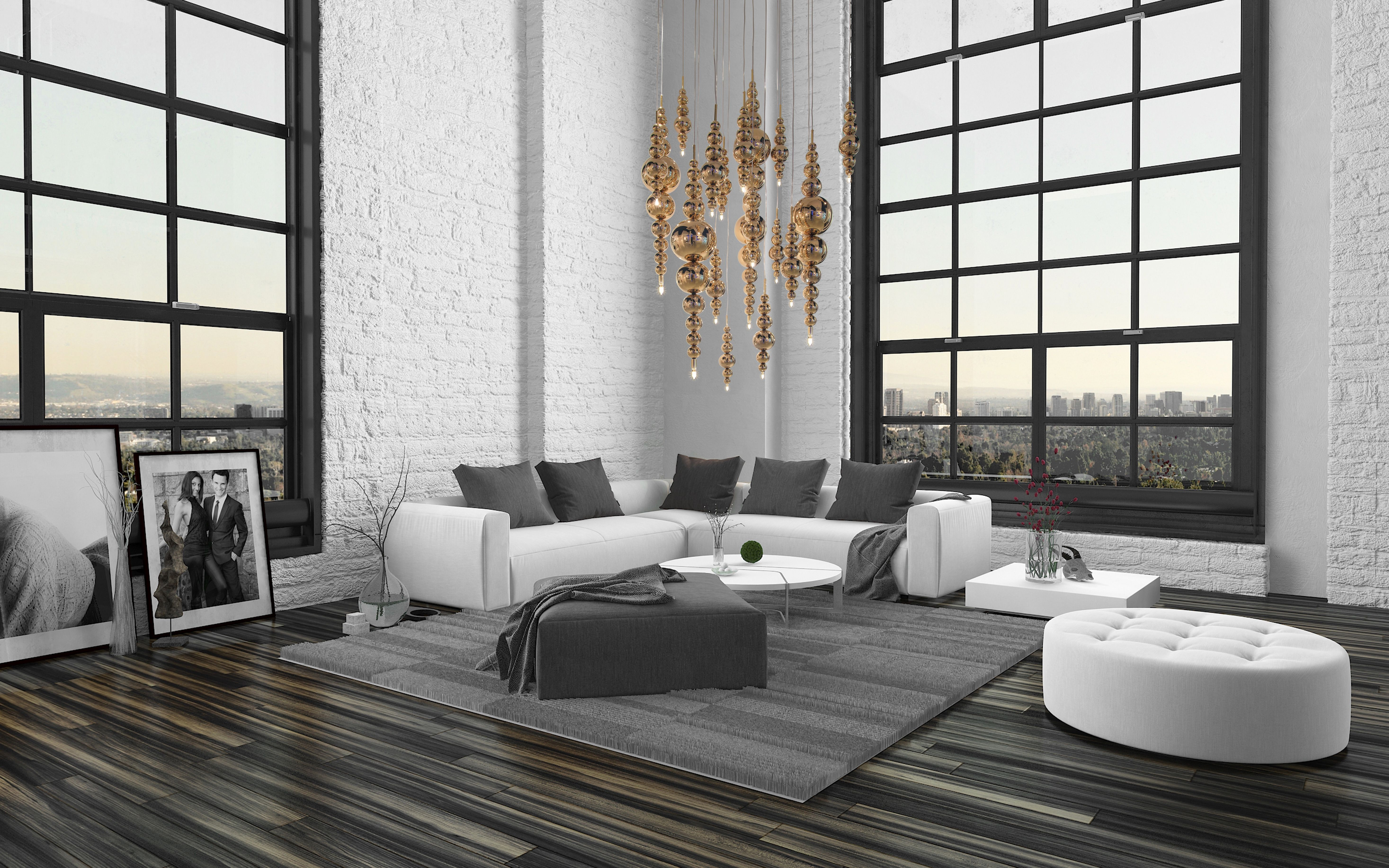 To create the most beautiful interiors you have to come up with the
