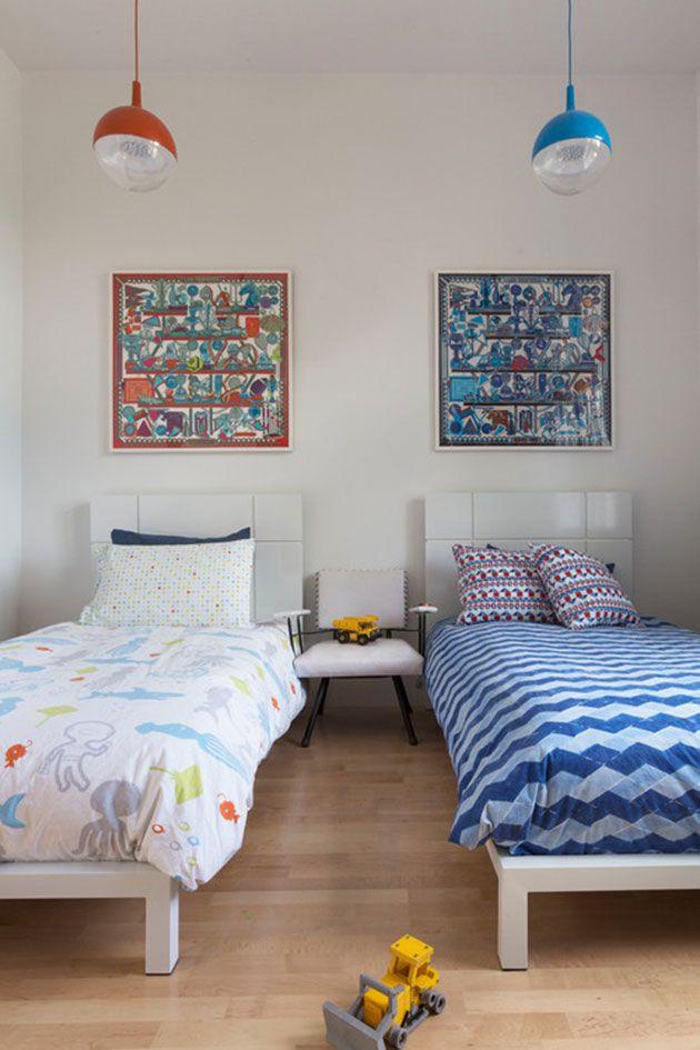 20 fotos e ideas para decorar una peque a habitaci n compartida decoraci n infantil children - Decoracion habitacion infantil pequena ...