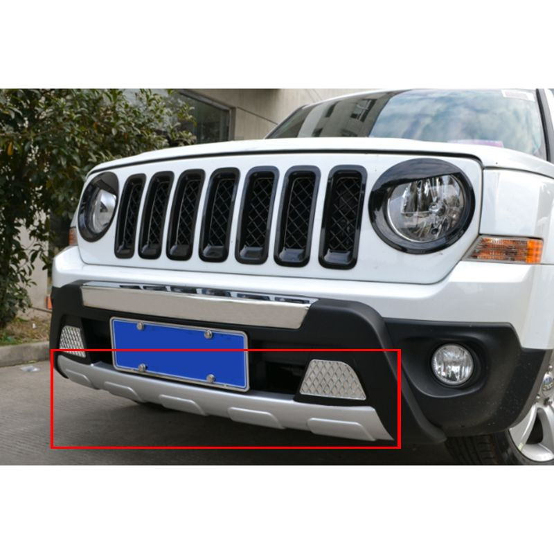 Car Abs Front Lower Bumper Protector Guard Bar For Jeep Patriot 2011 2012 2013 2014 2015 2016 Qp1040 Bumper Protector Jeep Patriot Jeep