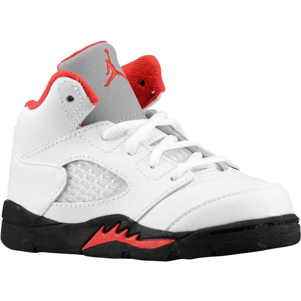 newest collection a5aa5 7178f Jordan Retro 5 Boys' Toddler ($55) ❤ liked on Polyvore ...