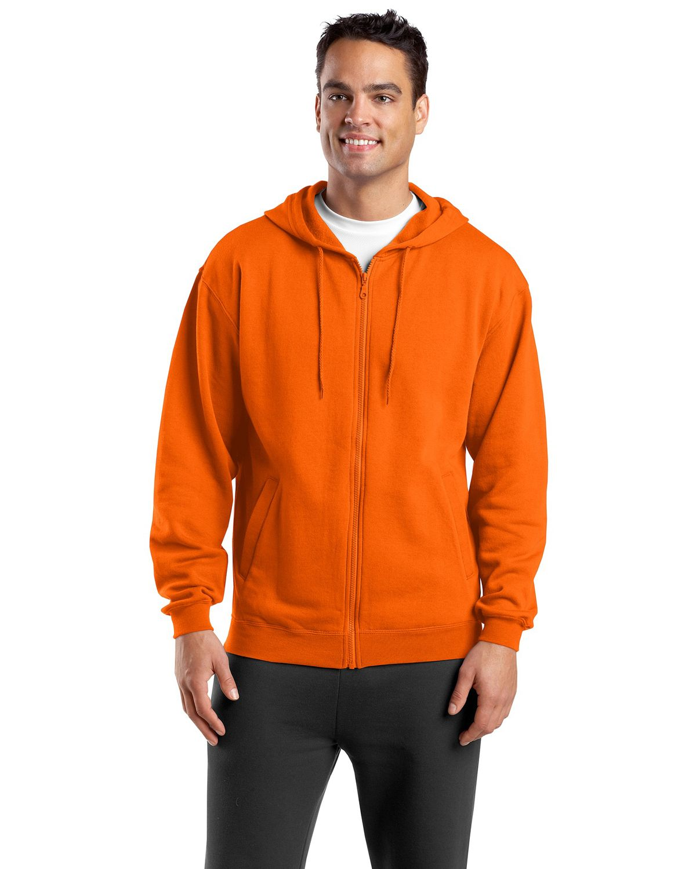 SportTek FullZip Hooded Sweatshirt Hooded