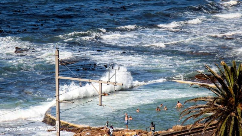 Dalebrook Tidal Pool from Boyes Drive Photo © Cape Town\'s Deep South ...