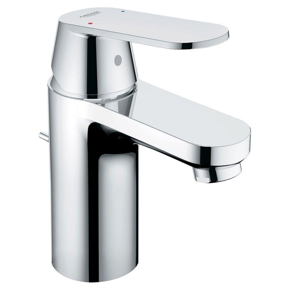 GROHE Eurosmart Cosmopolitan Single Hole Single-Handle Bathroom ...
