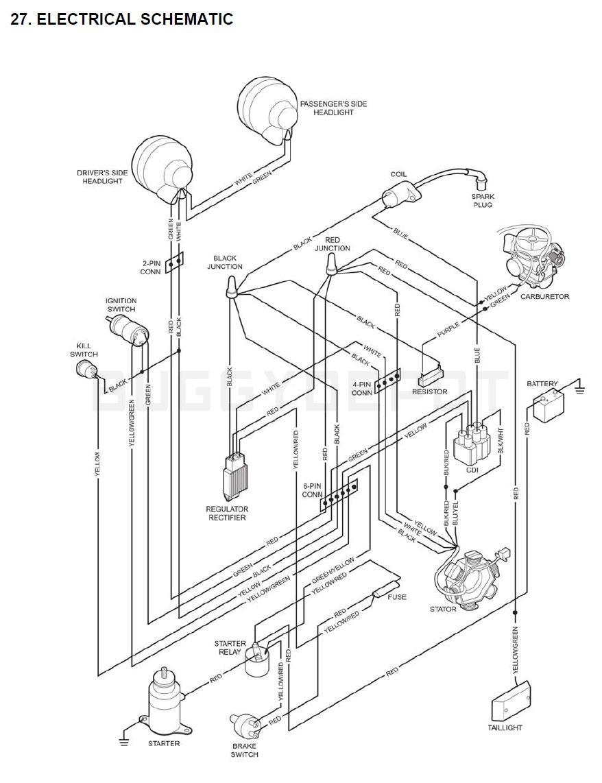 kandi go kart wiring diagram