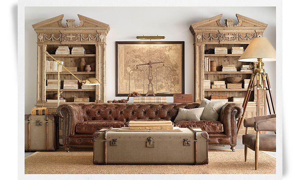 future office waiting room rooms restoration hardware the rh pinterest com