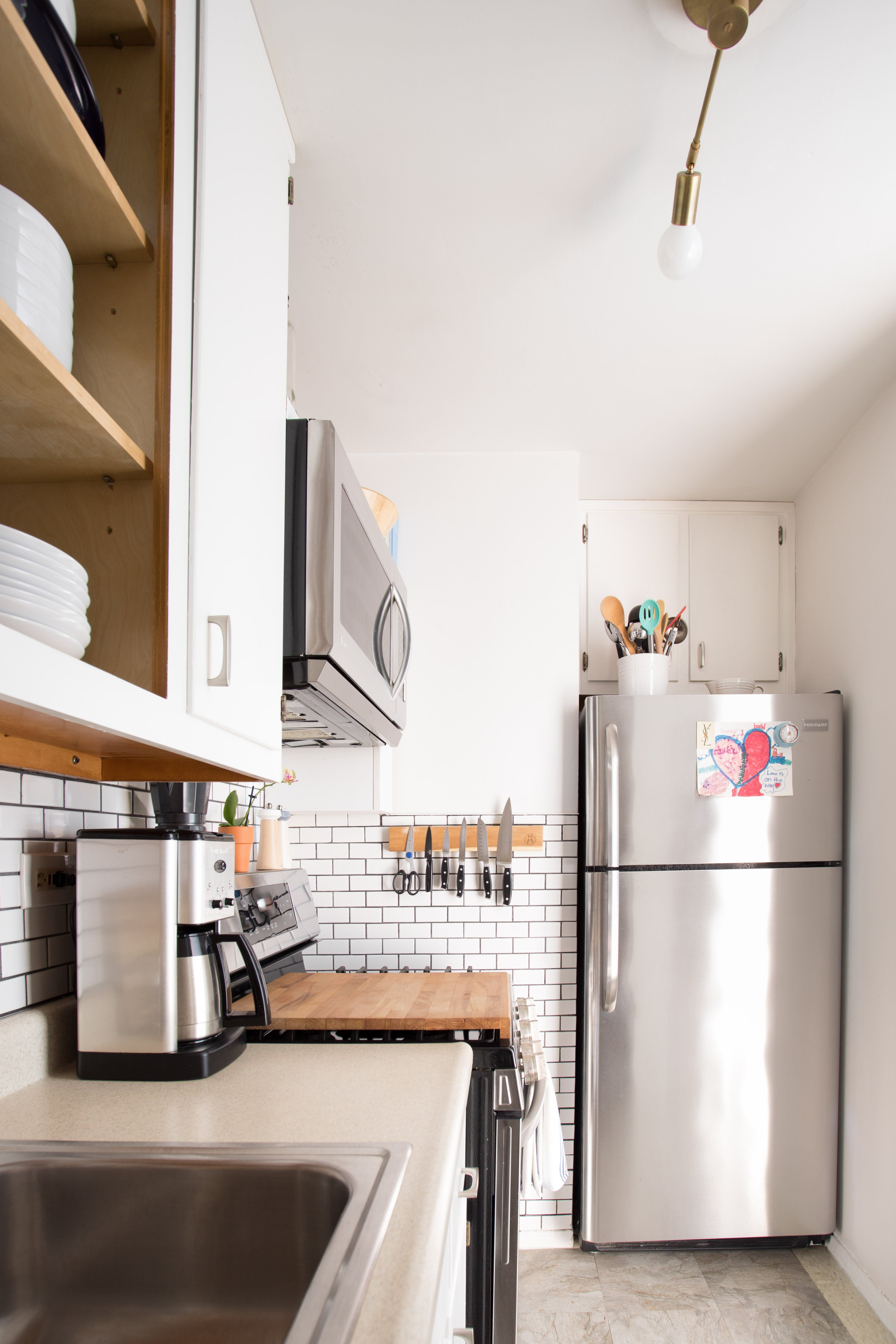 A small shared nyc apartment is a feast for the eyes
