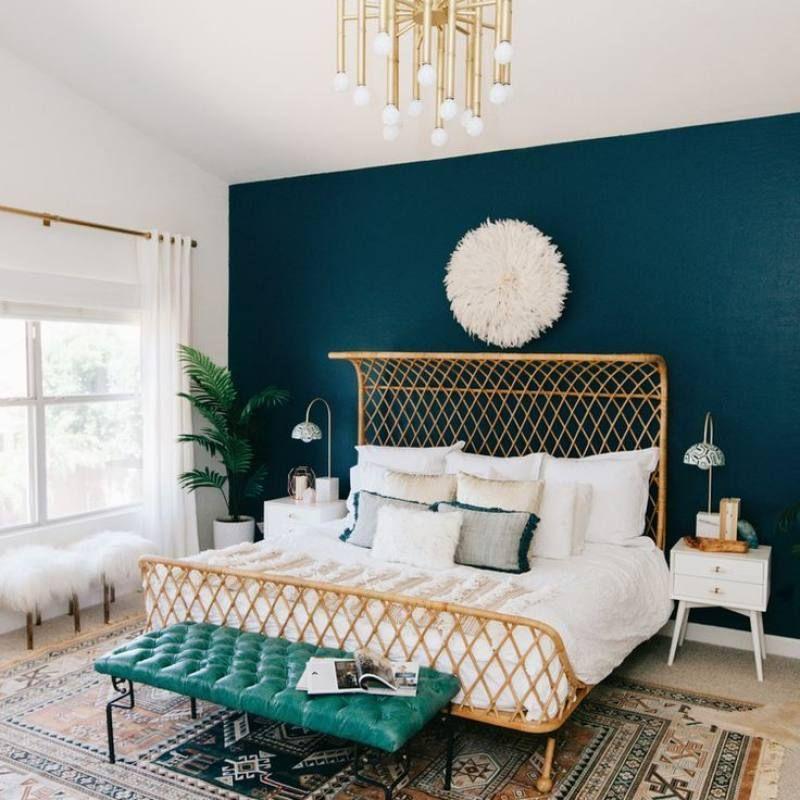 51 Bohemian Chic Bedroom Decor Ideas Chic Bedroom Decor Home