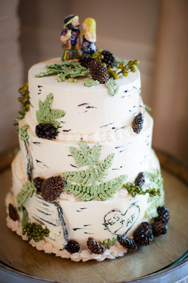 wedding cakes northern new jersey%0A Get that Spring Feeling at this Whimsical Winery Wedding