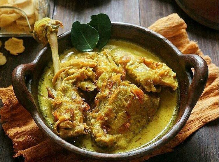 Resep Masakan Opor Ayam Kuning Spesial Resep Resep Masakan Makanan Dan Minuman
