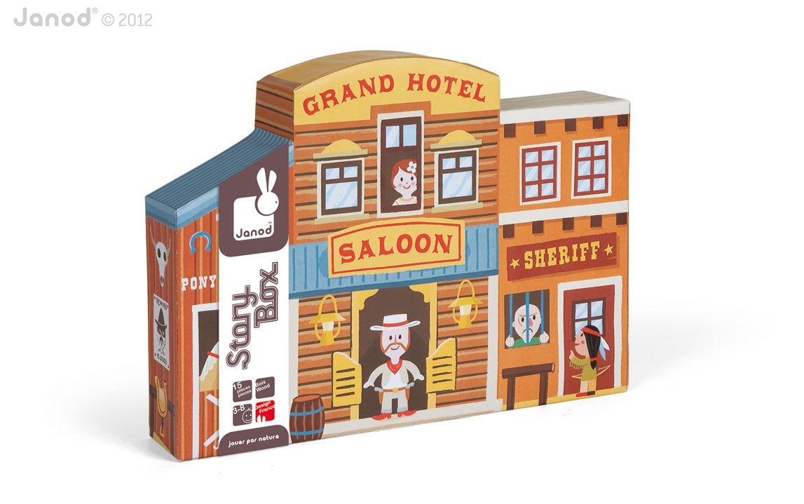 Story Box Wild West by Janod