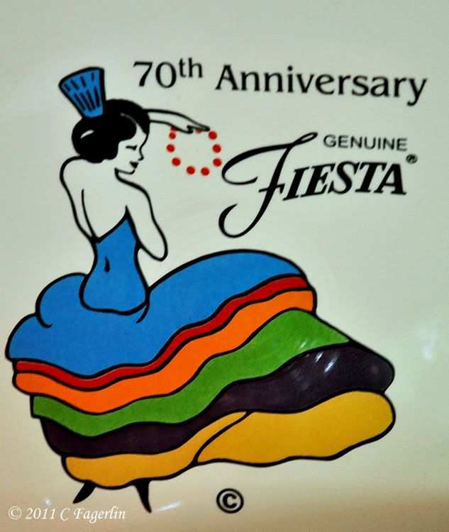 Fiesta® Dancing Lady Logo (Red and Green .... not just for Christmas) Fiesta Dinnerware 70th Anniversary | The Little Round Table
