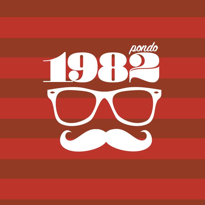 Pondo_tee_1982 Tees, Logos design, Heart sunglass