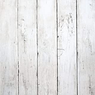 Haokhome Mr47 Peel And Stick Wood Wallpaper Shiplap Light Grey White Distressed Wood Plank Remova Wood Wallpaper White Wood Wallpaper Distressed Wood Wallpaper
