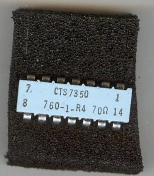 CTS Resistor Products Resistors 760-1-R4