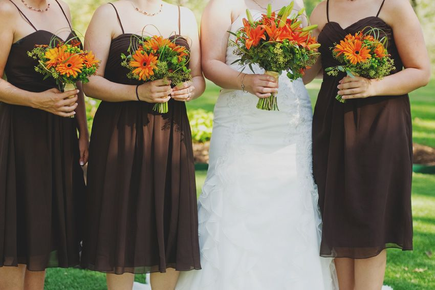 fall bridal party pictures%0A Beautiful fall bouquet