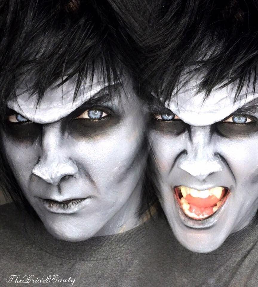 Gargoyle Queen/Bat Queen Halloween Makeup Tutorial