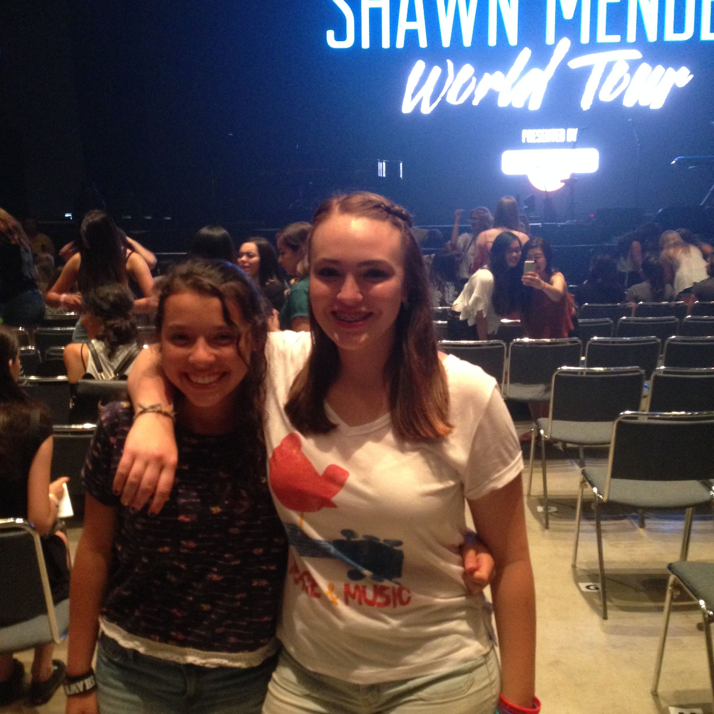 Was from first Shawn Mendes concert so proud of how far he's come
