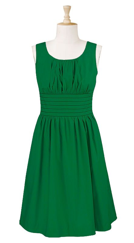 Love this green... and this is a neat website. you can customize the clothes (skirt length, sleeves, neckline, etc.)