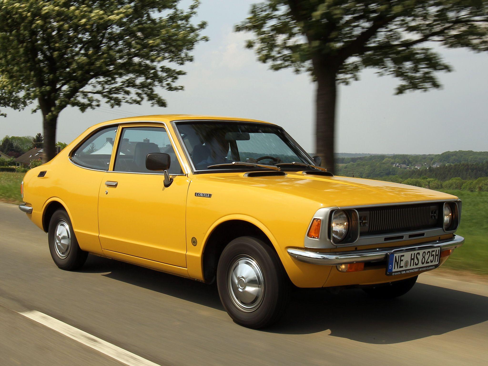Kelebihan Toyota Corolla 1970 Spesifikasi