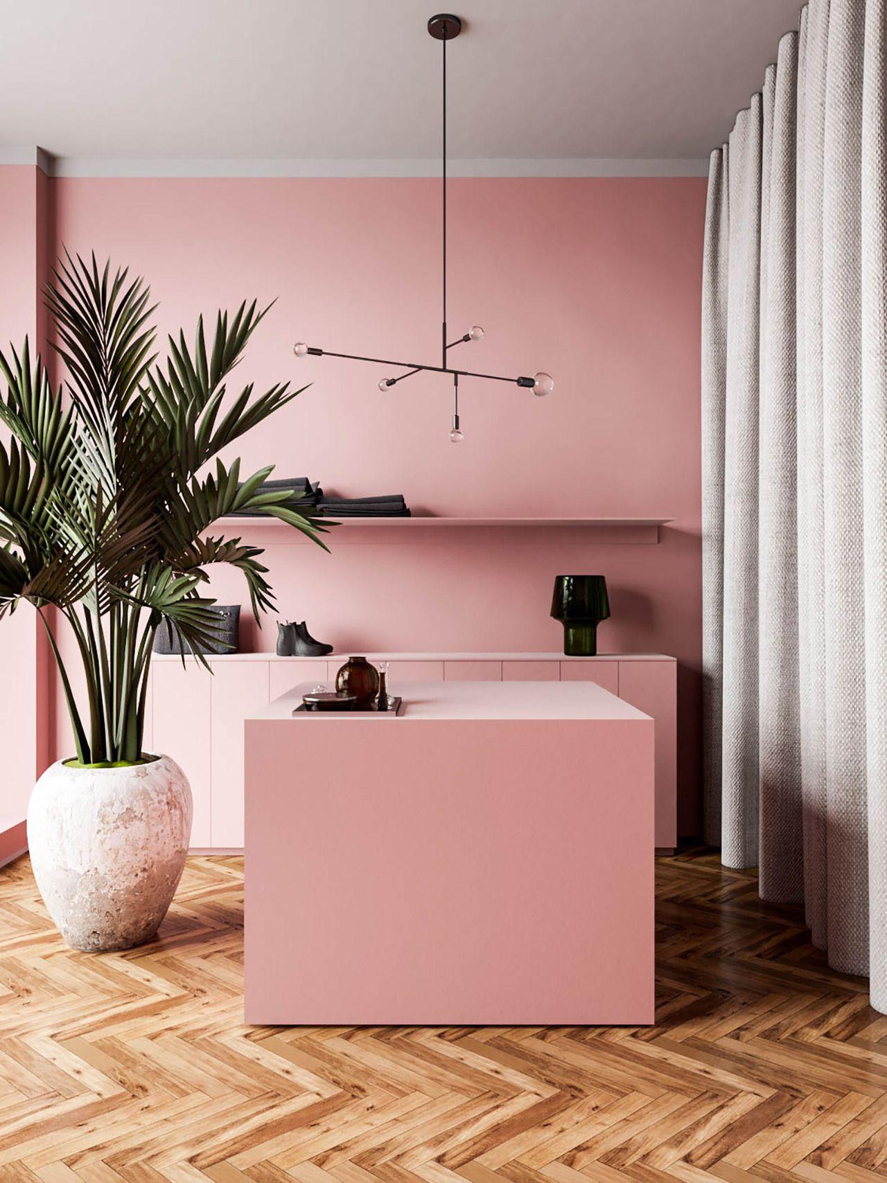 Modern interior design in a stunning series