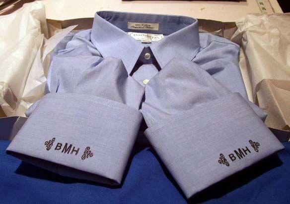 9270a5c2dee monogramed cuffs