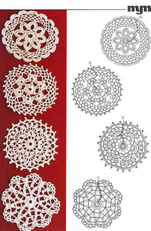 Busy Housewives: Circle crochet motifs | Z_crochet | Pinterest ...