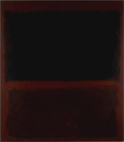 Mark Rothko, 'Black on Dark Sienna on Purple' (1960)