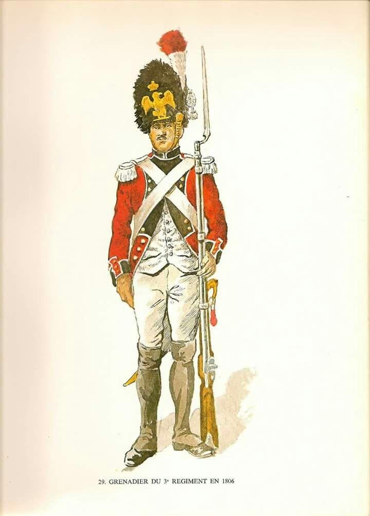 Granatiere del 3 rgt. fanteria della confederazione elvetica