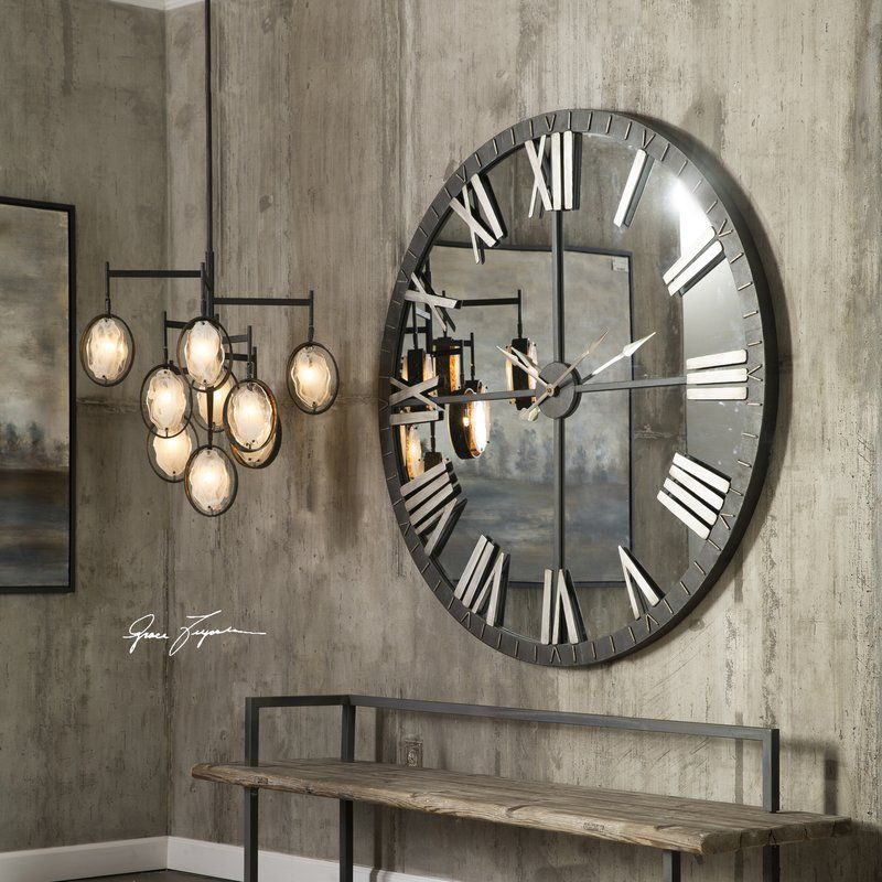 Bangor 60 Quot Large Round Wall Clock In 2019 Winter