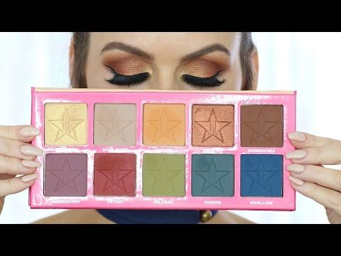 Jeffree Star Androgyny Palette Tutorial A Recenze Youtube