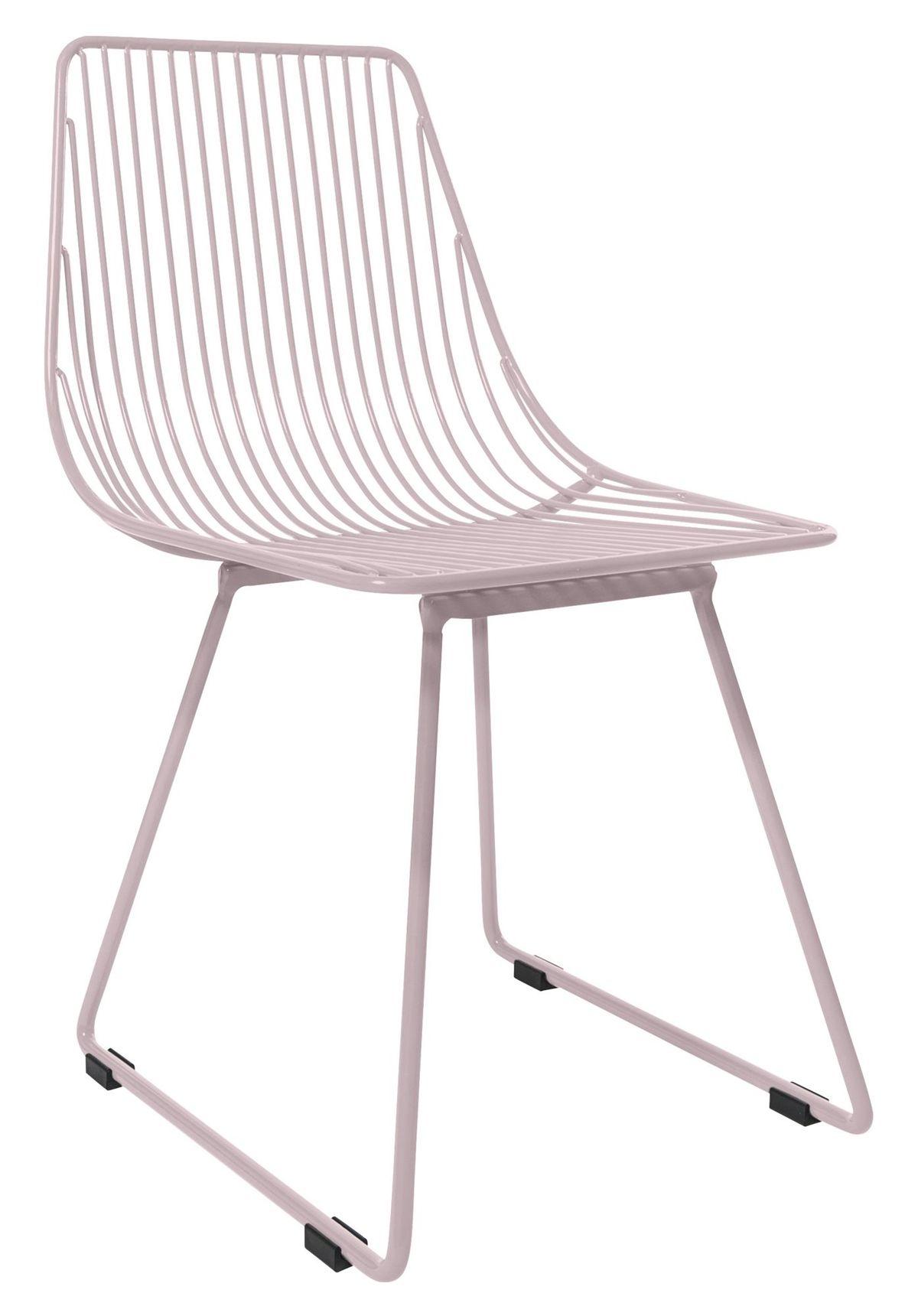 Alle nye Sebra Stol Metall Liten Pastell Rosa | Utemöbler och barn möbler SO-36