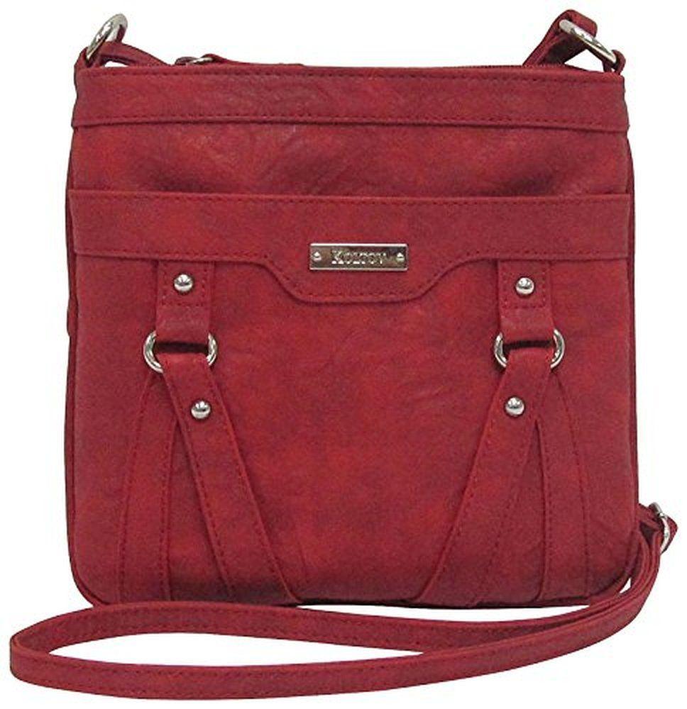 cross body bags: Koltov Holly In Ridge Shoulder Handbag No Size Red ||| ||| ||| Koltov Holly In Ridge Shoulder Handbag No Size Red :cross body bags