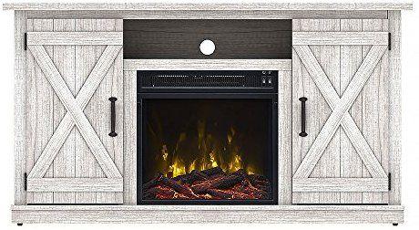amazon com comfort smart killian electric fireplace tv stand rh pinterest com
