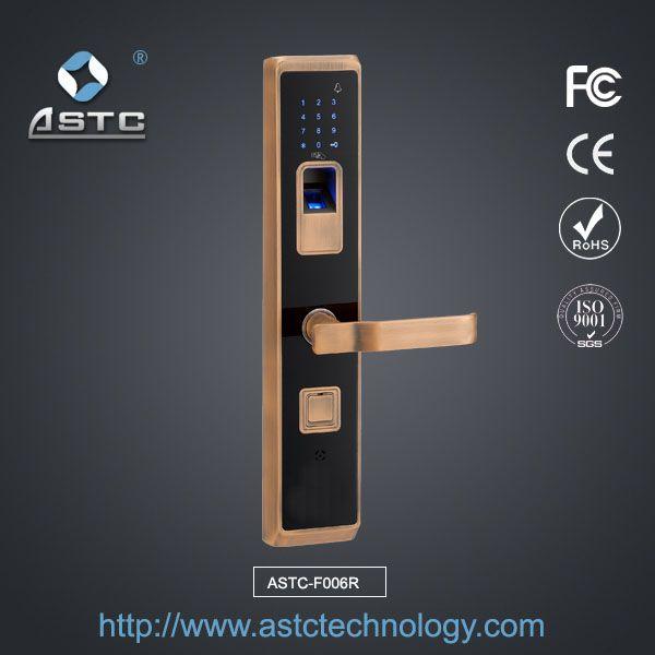 Front Door Fingerprint Lock Uk F006R