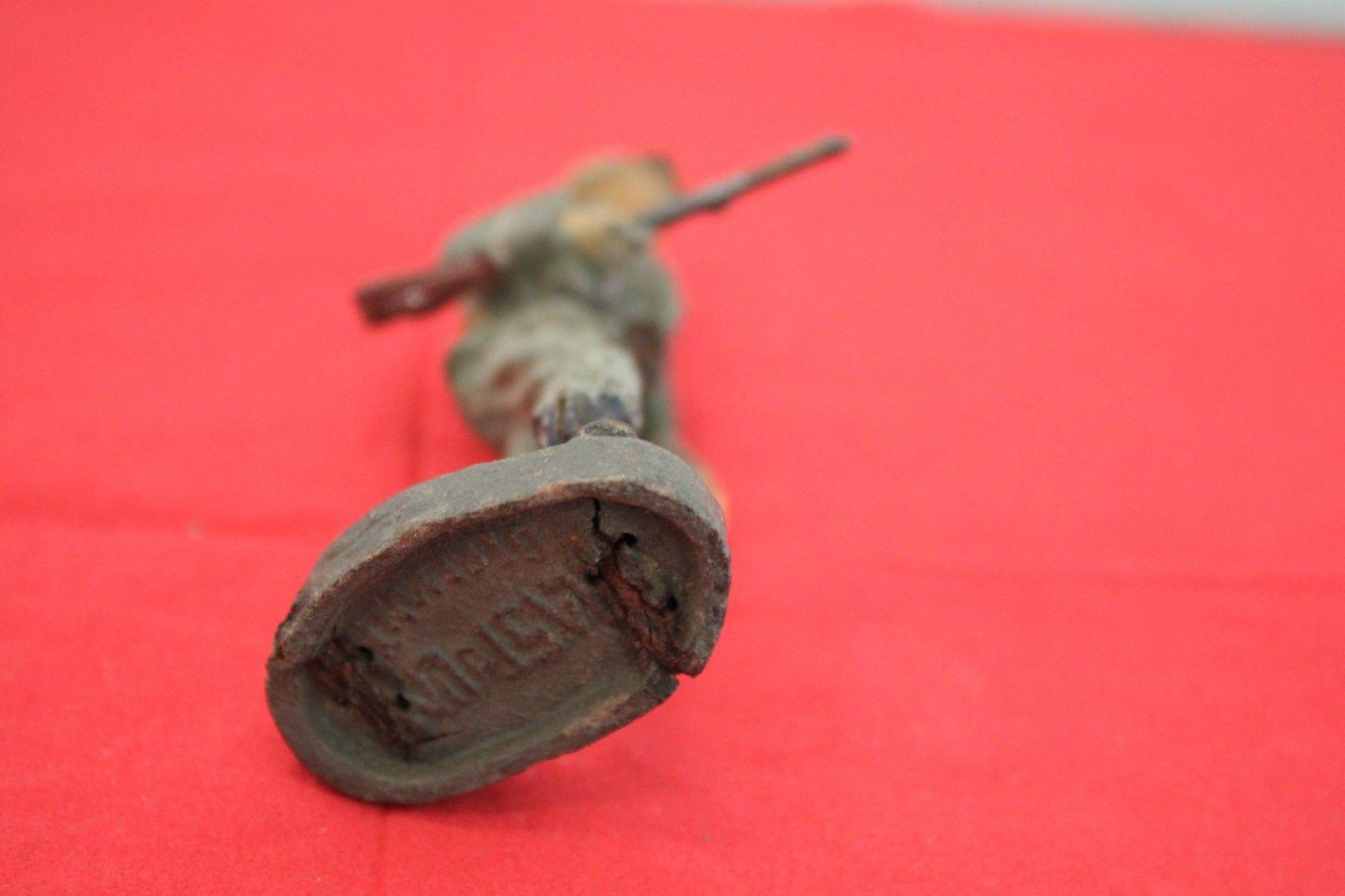Soldat mit Gewehr unter dem Arm , Elastolin 7,5 cm   eBay