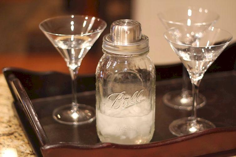 8. Mason Jar Cocktail Shaker