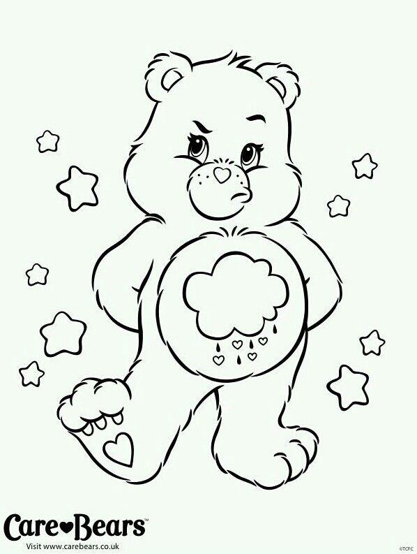 Idee van Care Bears World op Care Bear | Grumpy Bear 4 ...